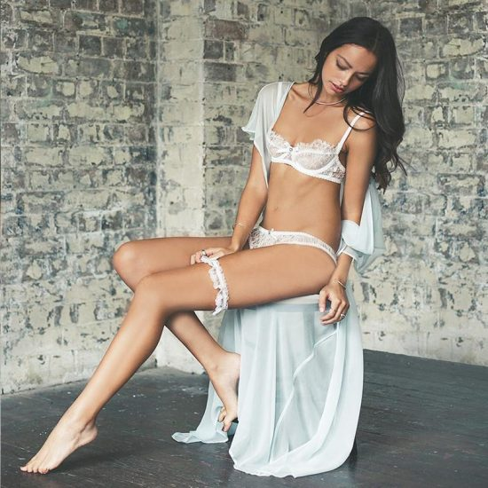 'Chantilly Lace' Thong - by Trousseau
