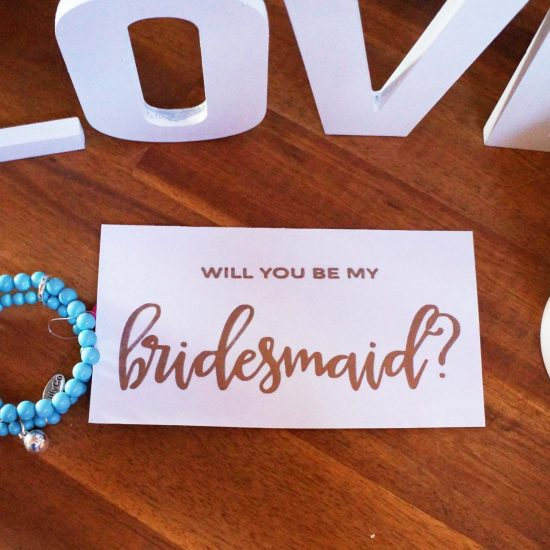'Will You be My Bridesmaid?' Card