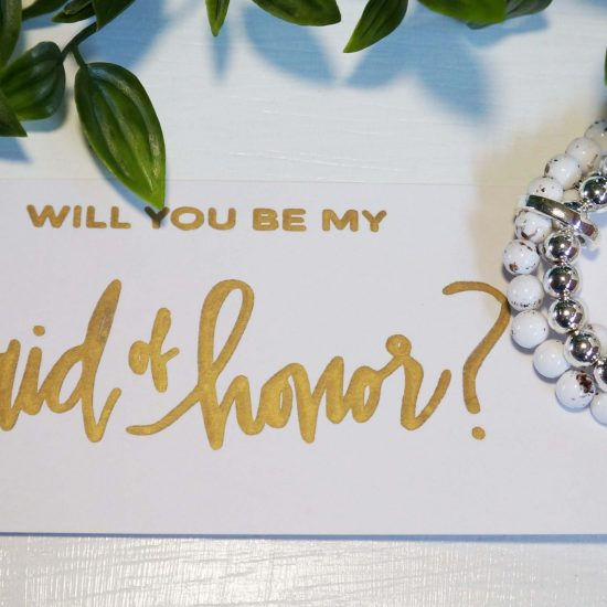 'Will You be My Maid-of-Honour?' Card
